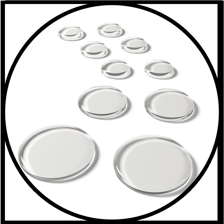 SlapKlatz PRO Clear Gels Circle
