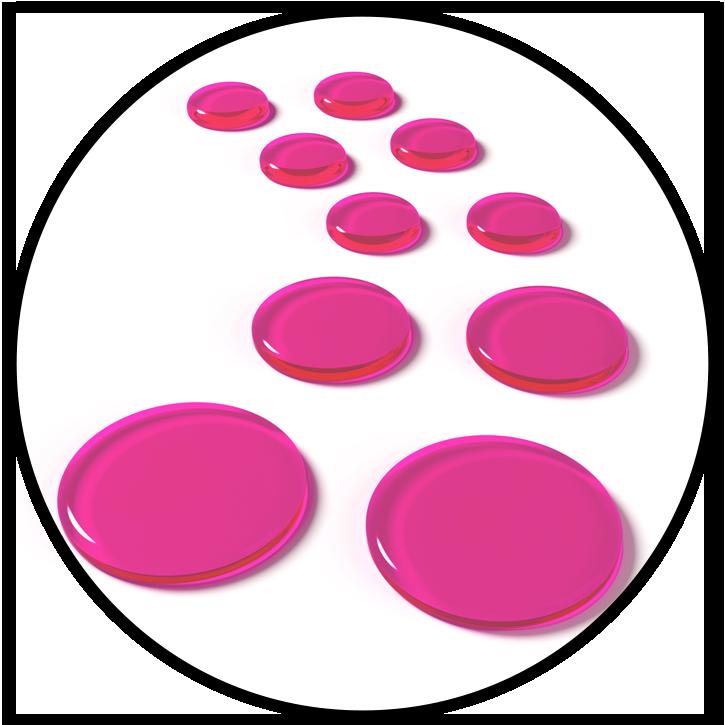 SlapKlatz PRO Pink Gels Circle - Anika Nilles Edition